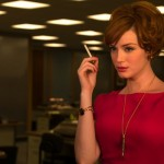 Watch This Funny Video Of Christina Hendricks In Modern Office