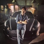 Look At James Wan And an Aston Martin In This FAST & FURIOUS 7 Set Image