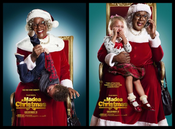 Madea Christmas Play.Here Are Tyler Perry S A Madea Christmas New Posters