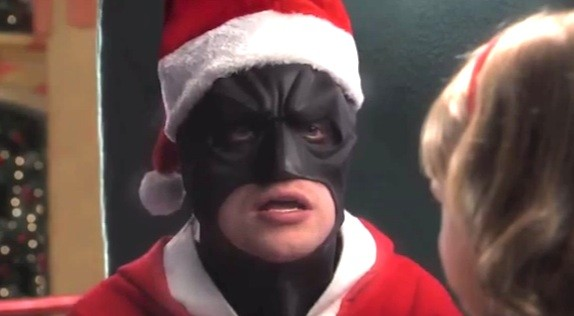 Batman Christmas.Here S Batman Showing Up In Your Favorite Christmas Movies