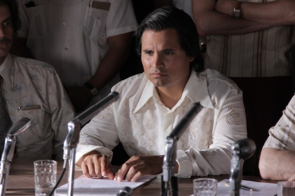 Michael Pena as Cesar Chavez