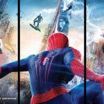 Here's A Better, Sharper Look At That AMAZING SPIDER-MAN 2 Triptych Poster That Shows The Villains – Rhino, Green Goblin, Electro