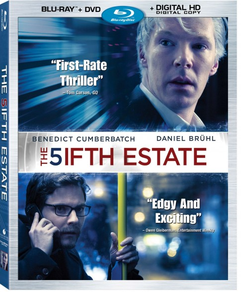 The Fifth Estate - BlurayComboArt