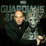 Look At This Image Of Vin Diesel With The Character He May Voice In Marvel's GUARDIANS OF THE GALAXY