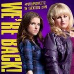 Anna Kendrick a.k.a Becca and Rebel Wilson a.ka. Fat Amy Return For PITCH PERFECT 2
