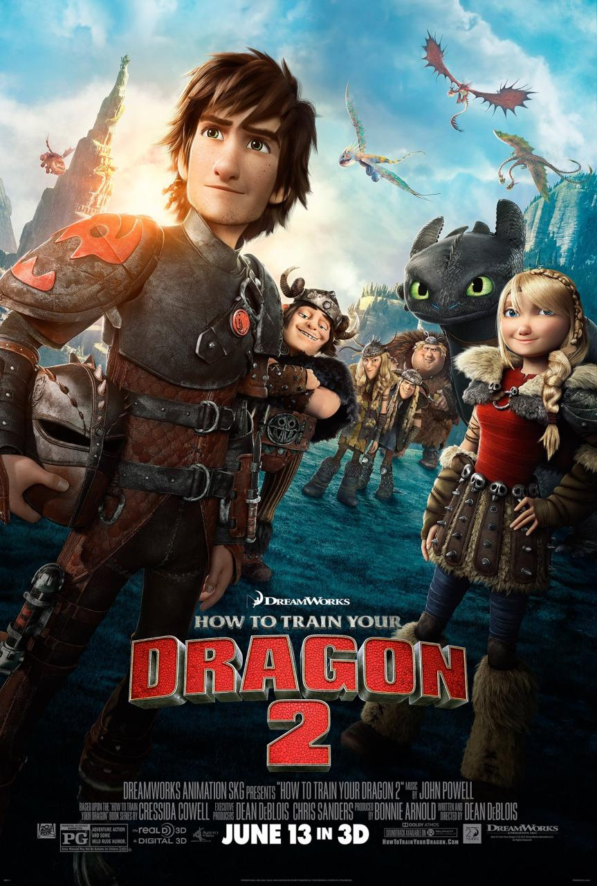 HTTYD ? Here?s The Brand New Poster For HOW TO TRAIN YOUR DRAGON