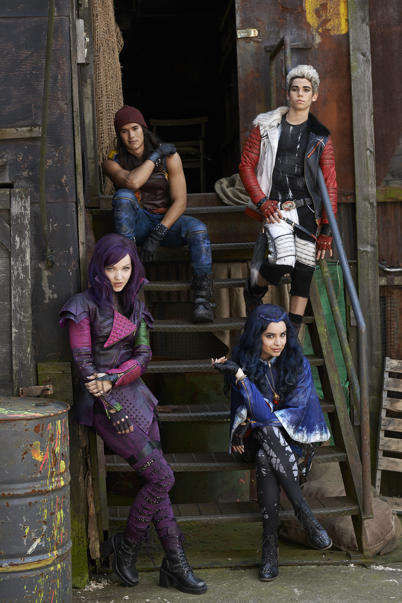 Disney #Descendants – Behold This First Image of @DisneyChannel