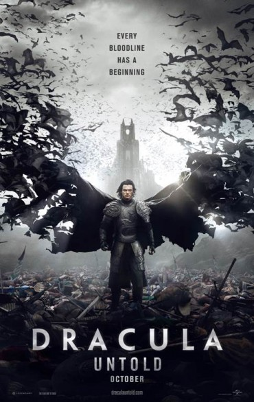 Here's the domestic poster for dracula untold starring