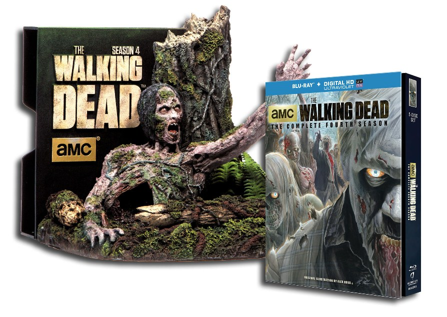The Walking Dead The Complete Fourth Season Hits Blu Ray