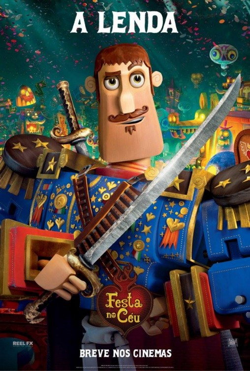 THE BOOK OF LIFE New Poster Plus Character Posters