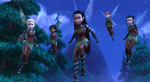 tinkerbell the pixie hollow games trailer