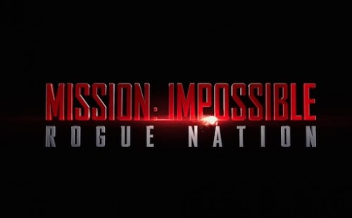 Mission: Impossible - Rogue Nation logo