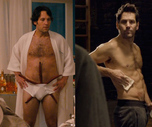 Paul Rudd In This Is 40 And Paul Rudd In Ant Man