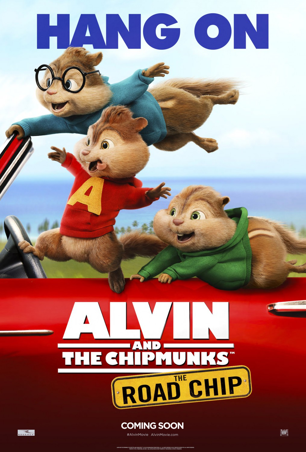 boys on the hood in these alvin and the chipmunks: the road chip new