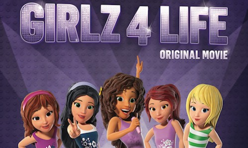 Lego Friends Girlz 4 Life Hits Blu Ray Combo Pack And Dvd