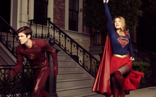 The Flash - Supergirl - Grant Gustin - Melissa Benoist