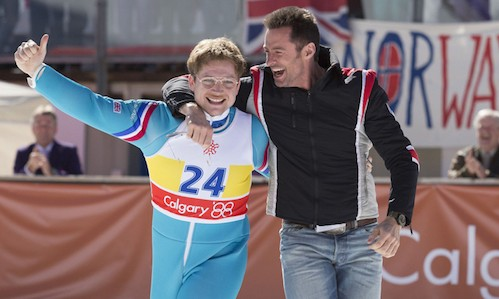 Eddie The Eagle - Taron Egerton - Hugh Jackman