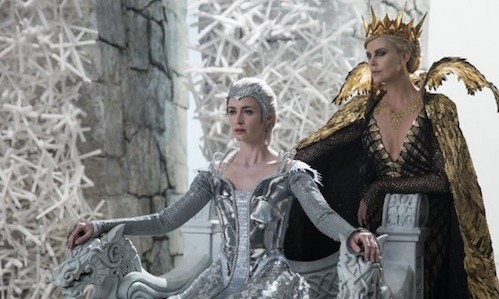 The Huntsman - Winter's War - Emily Blunt - Charlize Theron