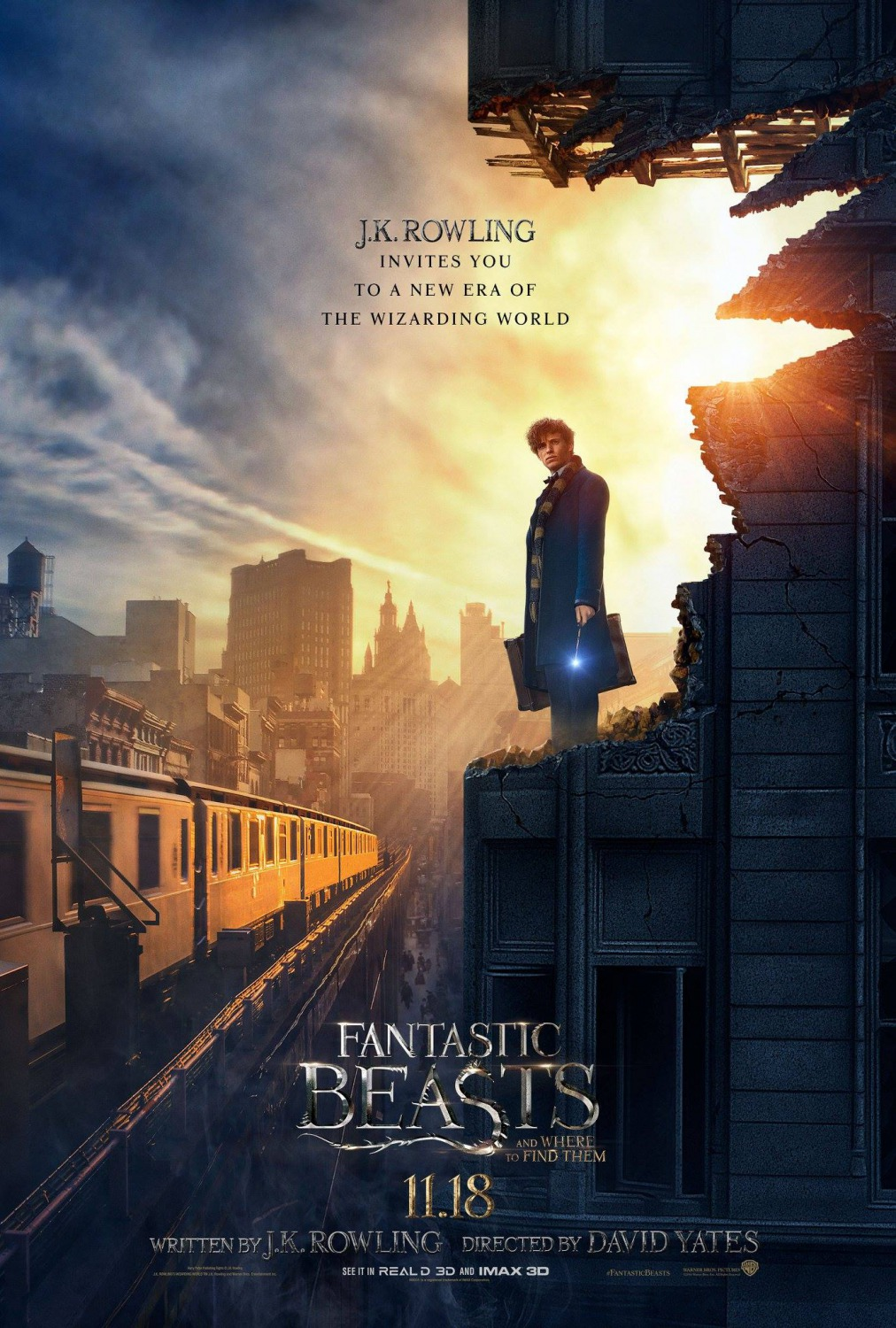 Watch Movie Bluray 2016 Online Fantastic Beasts And Where To Find Them