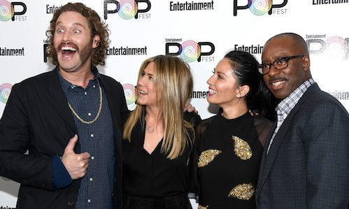 Christmas Office Party Cast.Photos Of The Office Christmas Party Cast Panel At Ew