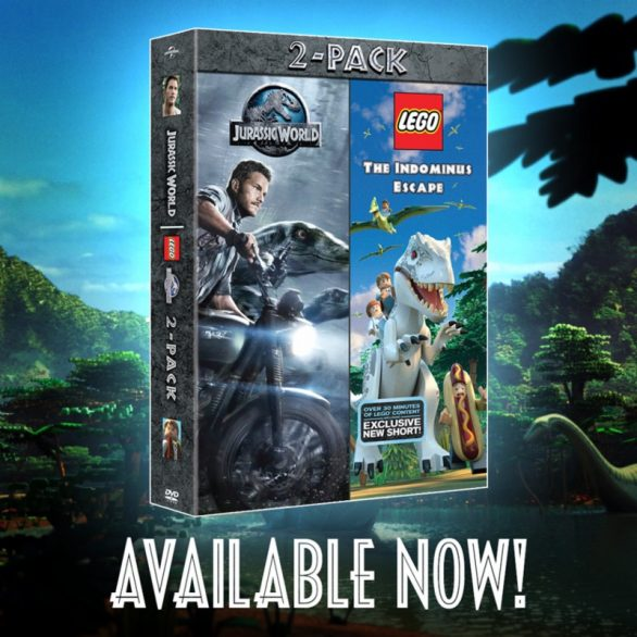 Details On The New 'Jurassic World' DVD Bundle Featuring