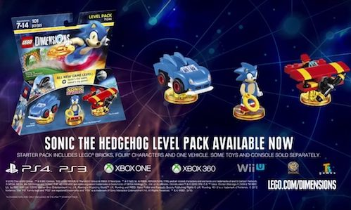Awesome Here S The Trailer For Lego Dimensions Sonic The Hedgehog Level Pack Rama S Screen