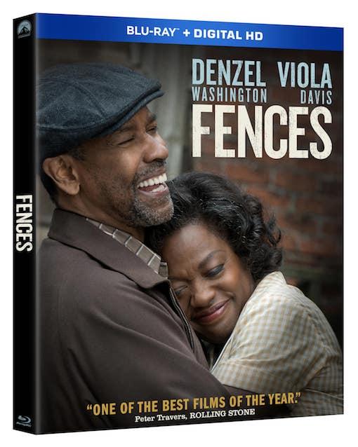 FENCES Denzel Washington Pittsburgh Negro League Viola Davis LARGE French POSTER