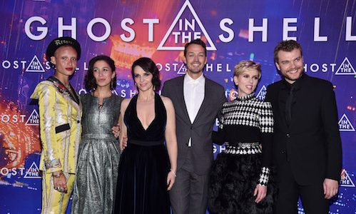 Look At Scarlett Johansson In These Ghost In The Shell Paris Premiere Photos Rama S Screen