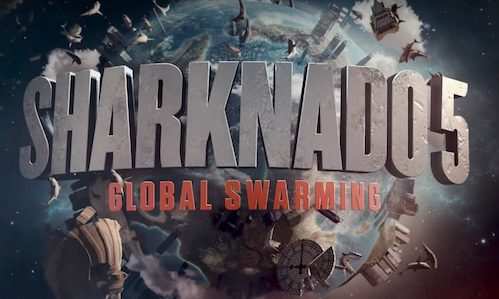 Watch This New Trailer For Sharknado  Global Swarming