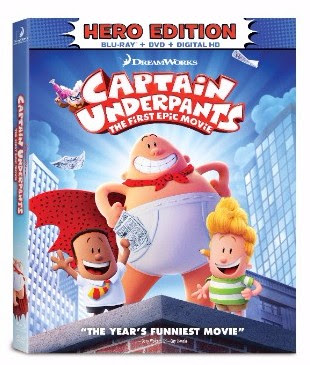 Captain Underpants The First Epic Movie Hits Digital Hd 8 29 And On Blu Ray Dvd 9 12 Pre Order It Today Rama S Screen