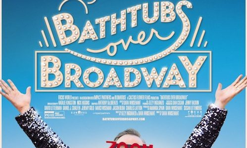 bathtubs over broadway new poster and new trailer | rama's screen