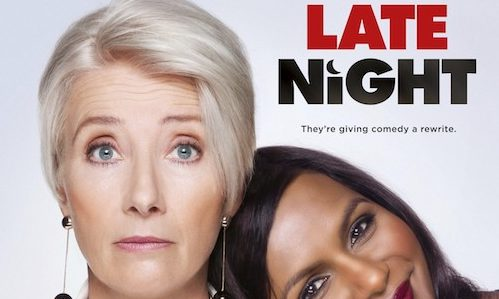 Watch Emma Thompson And Mindy Kaling In This Late Night New Clip Rama S Screen