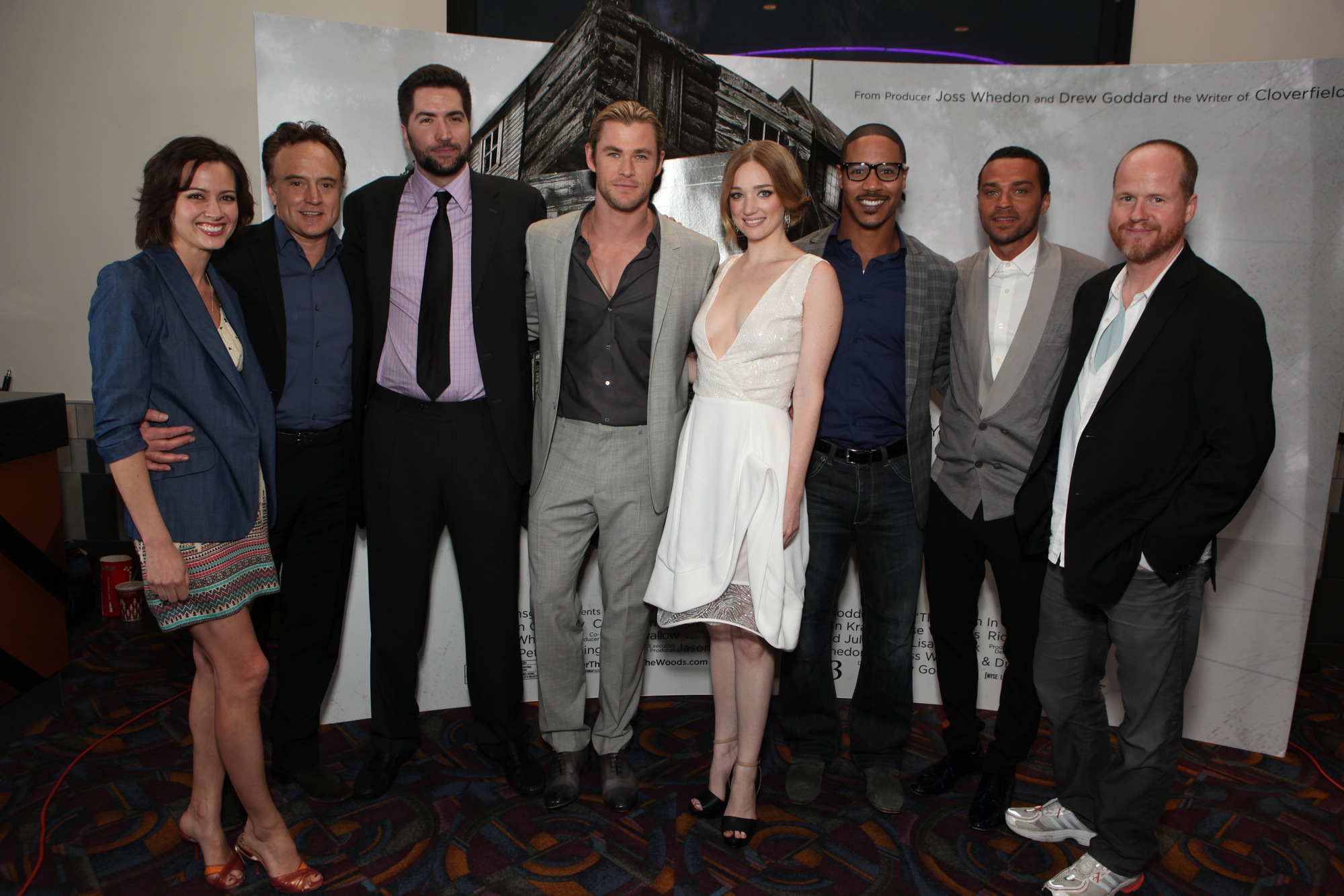 The Cabin In The Woods Photos From The L A Premiere