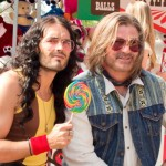 Look At Russell Brand And Alec Baldwin In This ROCK OF AGES Set Photo