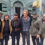 Bam! Look At Chuck Freakin' Norris On The Set Of THE EXPENDABLES 2