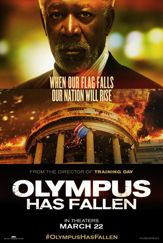 Olympus Has Fallen - Morgan Freeman