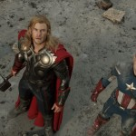 THE AVENGERS New Photo Plus Hi-Res Version Of The Previously Released Photos