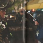 2 New Scanned Images Of THE AVENGERS Show Cap Vs. Loki, Plus Thor!