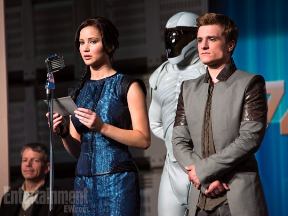 The Hunger Games - Jennifer Lawrence - Josh Hutcherson