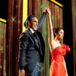 2 New Images Of THE HUNGER GAMES. First Look At Caesar Flickerman!