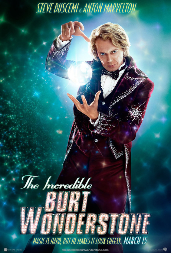 The Incredible Burt Wonderstone - Steve Buscemi